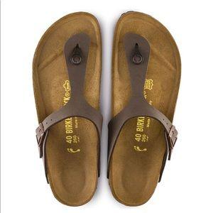 Birkenstock Mocha Thong Sandal Womens Size 40